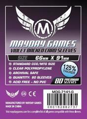 Протекторы Mayday: 66*91мм (Purple Backed) (80)
