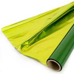 Полисилк Металл, Зеленый/Салатовый, 100 см* 20 м.