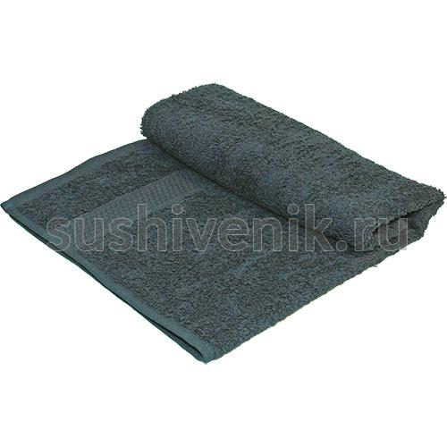 Полотенце махровое темно синее 50х90