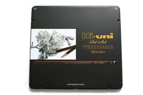 Набор Uni Mitsubishi Hi-Uni Art Set (22 карандаша)