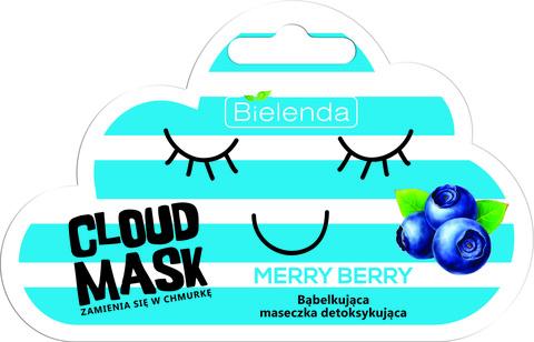 CLOUD MASK детоксифицирующая кислородная маск Merry Berry 6g