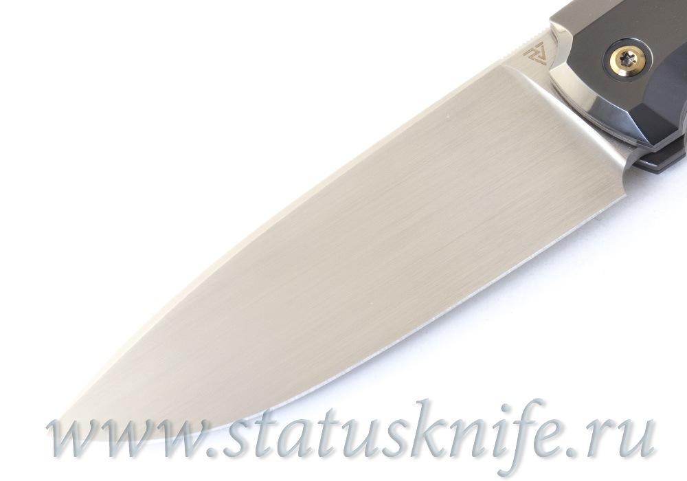 Нож CKF/Philippe Jourget FIF23 (M390, титан+цирконий+карбон, Sale Card) - фотография