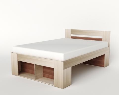 Кровать БЕЛЛРОК-1-2000-1400 /2036*900*1436/
