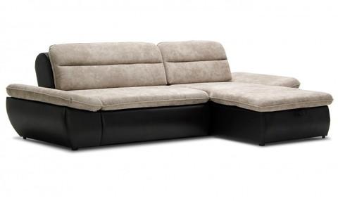 Угловой диван Монако, бежевый