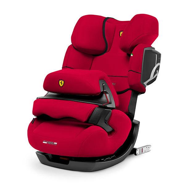 Автокресло 1/2/3 Cybex Pallas 2-Fix FE Ferrari Racing Red