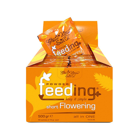 Минеральное сухое удобрение Short Flowering от Powder Feeding