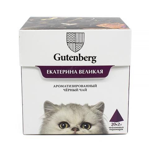 Чай в пирамидках: кошки Екатерина Великая ЧАЙ ИП Кавацкая М.А. 20шт/уп