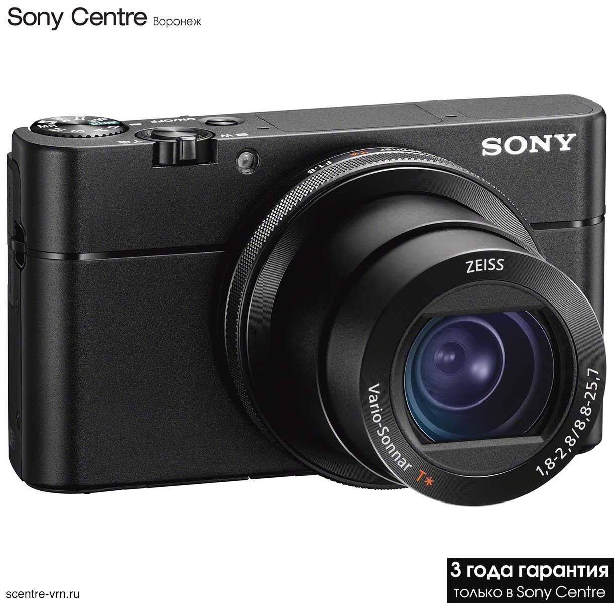 Фотоаппарат Sony DSC-RX100M5A купить в официальном интернет-магазине