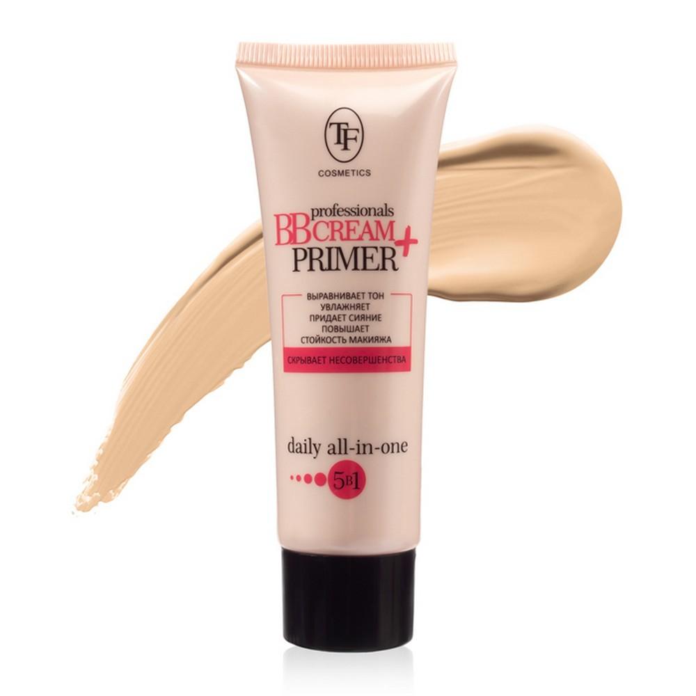 Тональный крем для лица и основа под макияж Professional BB Cream+Primer
