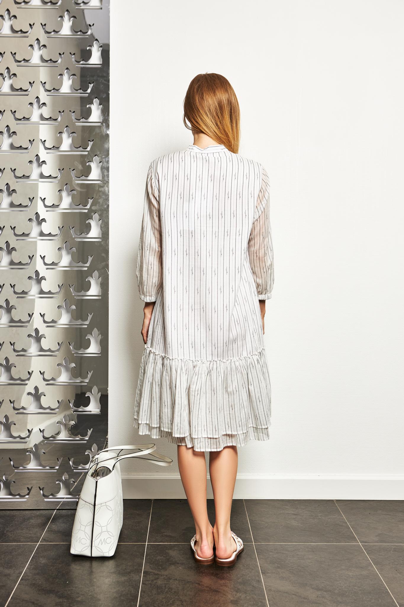 CAPPELLINI Платье в полоску