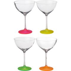 Набор бокалов для коктейлей из 4 шт, «Neon Frozen», 340 мл, фото 1