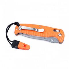 Складной нож Ganzo G7412P-WS (черный, оранжевый)