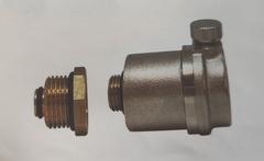 """Воздухоотводчик автоматический НР 15 1/2""""  O-ring с клапаном"""