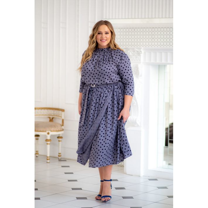 Платья Платье Агата в горошек 29291-grey platje-agata-grey-710x710.jpg