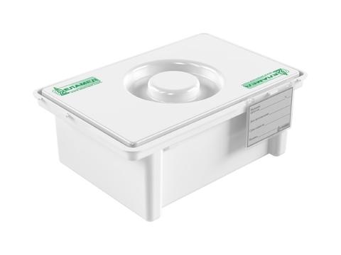 7 Емкость-контейнер полимерный (полипропиленовый) для дезинфекции и предстерилизационной обработки медицинских изделий (с карманом) ЕДПО-3-02-2