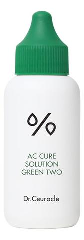 Успокаивающее Средство Для Проблемной Кожи  DR. CEURACLE Ac Cure Green Two