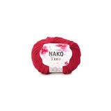Пряжа Nako Fiore ягодный 11670