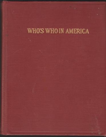 Who`s Who in America