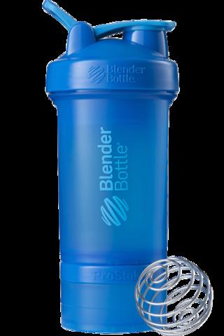 Шейкер спортивный с 2мя контейнерами, таблетницей и пружиной,  650мл, BlenderBottle ProStak