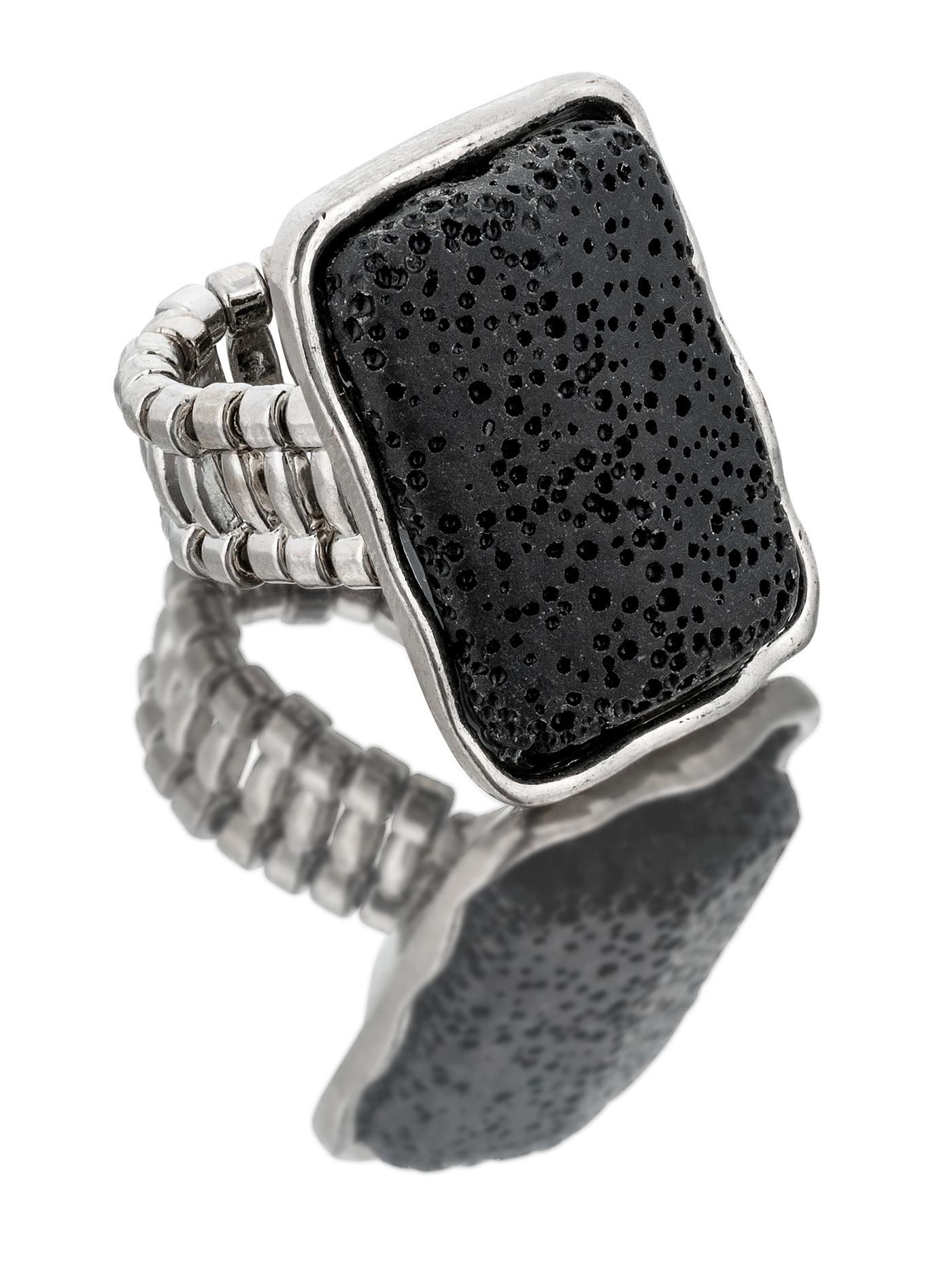 Кольцо Тенерифе с лавой