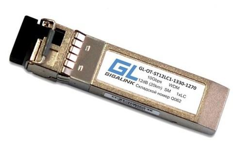 Оптический SFP+ модуль GL-OT-ST12LC1-1270-1330