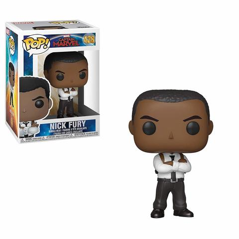 Фигурка Funko POP! Bobble: Marvel: Captain Marvel: Nick Fury 36351