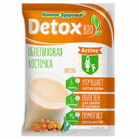 Компас здоровья Кисель на фруктозе detox bio ACTIVE облепиховая косточка 25 г