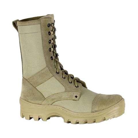 Ботинки с высоким берцем песочные