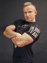 Мужская футболка Olimp WILD BLACK&GOLD