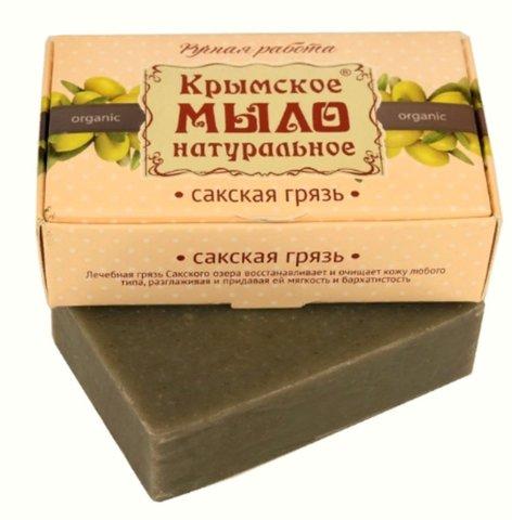Крымское мыло «Сакская грязь»™Дом Природы