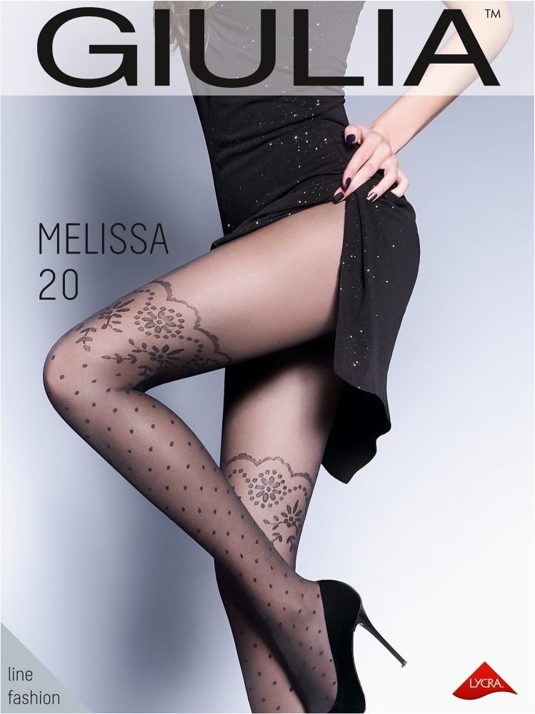Giulia MELISSA 20 №1 колготки женские