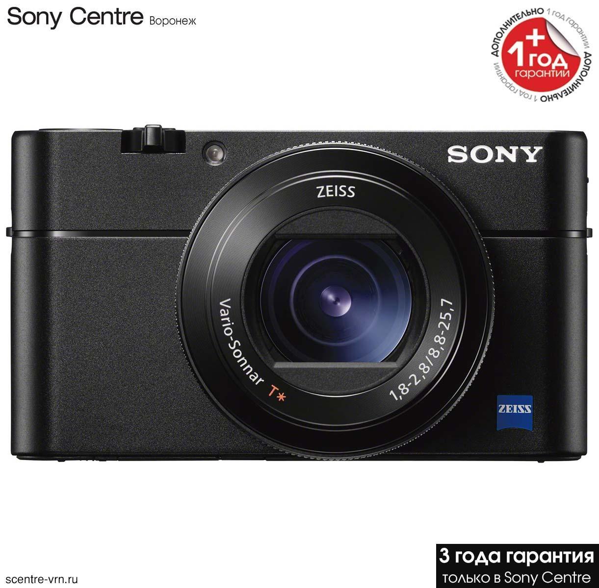 Фотокамера Sony DSC-RX100M5A в фирменном магазине Sony Centre Воронеж