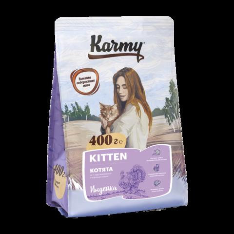 Karmy Kitten Сухой корм для котят, беременных и кормящих кошек с индейкой