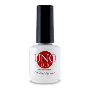 Топ для гель-лака с бархатным эффектом «Uno» Lux Velvet Top Coat Uno