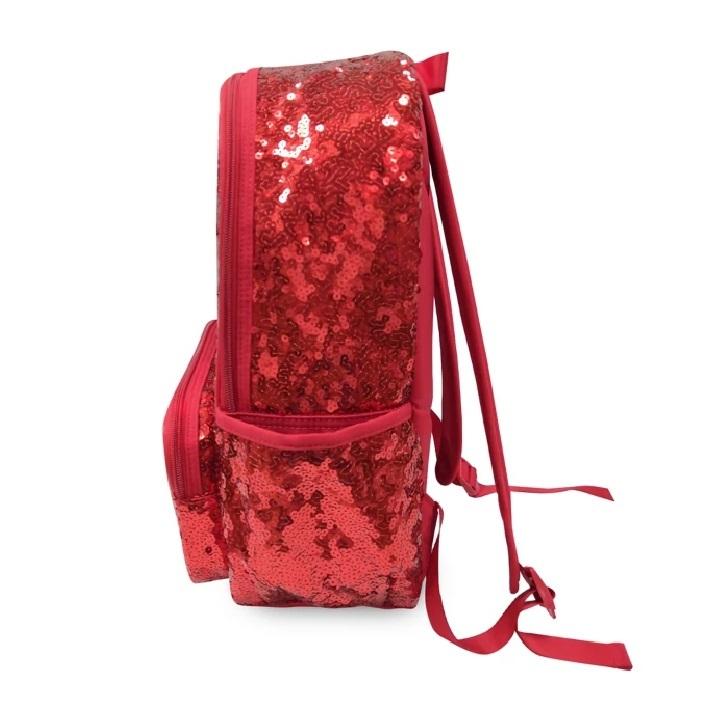 Школьный рюкзак Минни Маус Дисней с пайетками 40 см