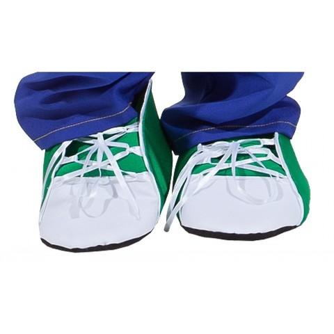 Имитация обуви - Кеды зеленые