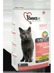 1st Choise Корм для домашних кошек, 1st Choice VITALITY, с цыпленком chatadultepoilscourts_177x240.png