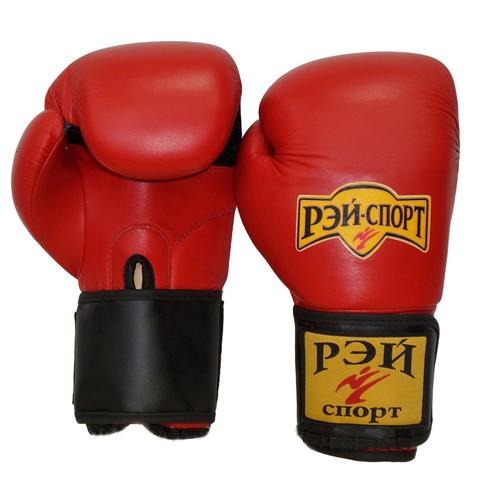 Перчатки боксерские ХУК кожа