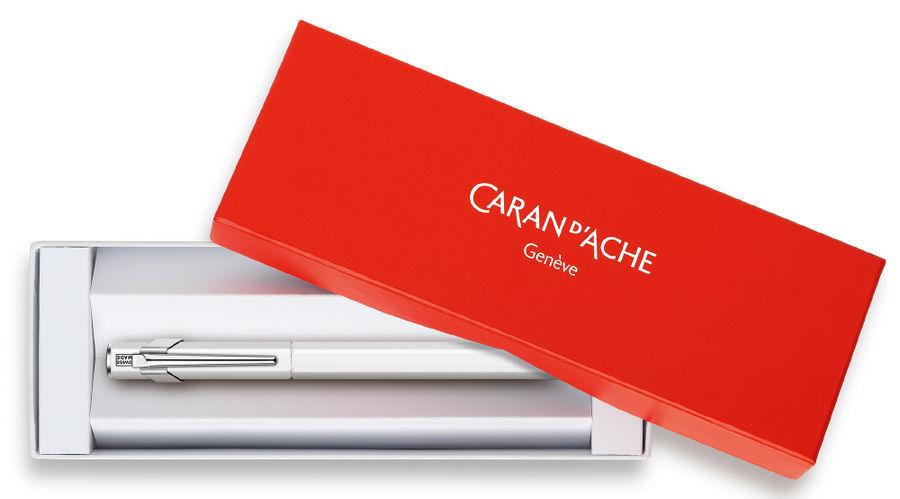 Carandache Office 849 Fluo - Желтый флуоресцентный, перьевая ручка, F, подарочная коробка