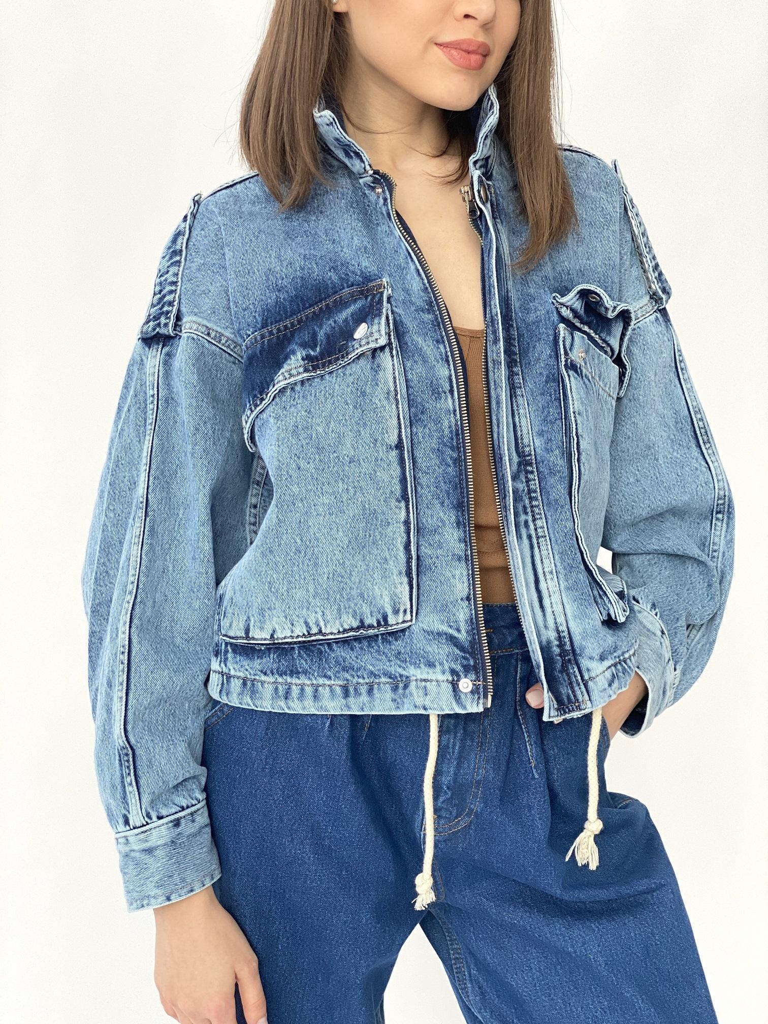 Джинсовая куртка, UNO, C6469 (джинс)