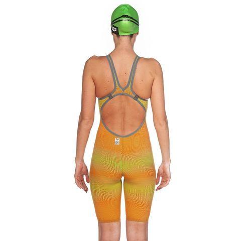 (2020) Cтартовый костюм Arena Powerskin Carbon AIR² Open Back lime orange ПОД ЗАКАЗ