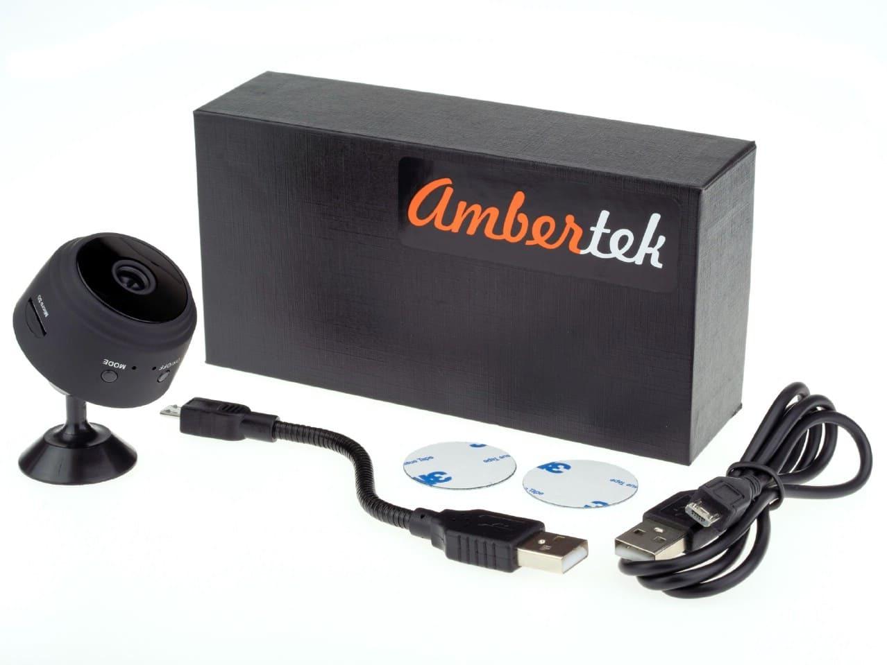 Беспроводная Wi-Fi IP мини камера Ambertek Q4S