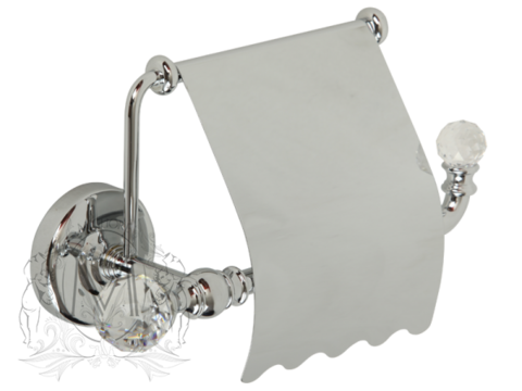 Бумагодержатель закрытый Migliore Amerida ML.AMR-60.406 Swarowski