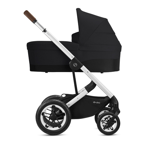 Детская коляска Cybex Talos S Lux 3 в 1 SLV Deep Black