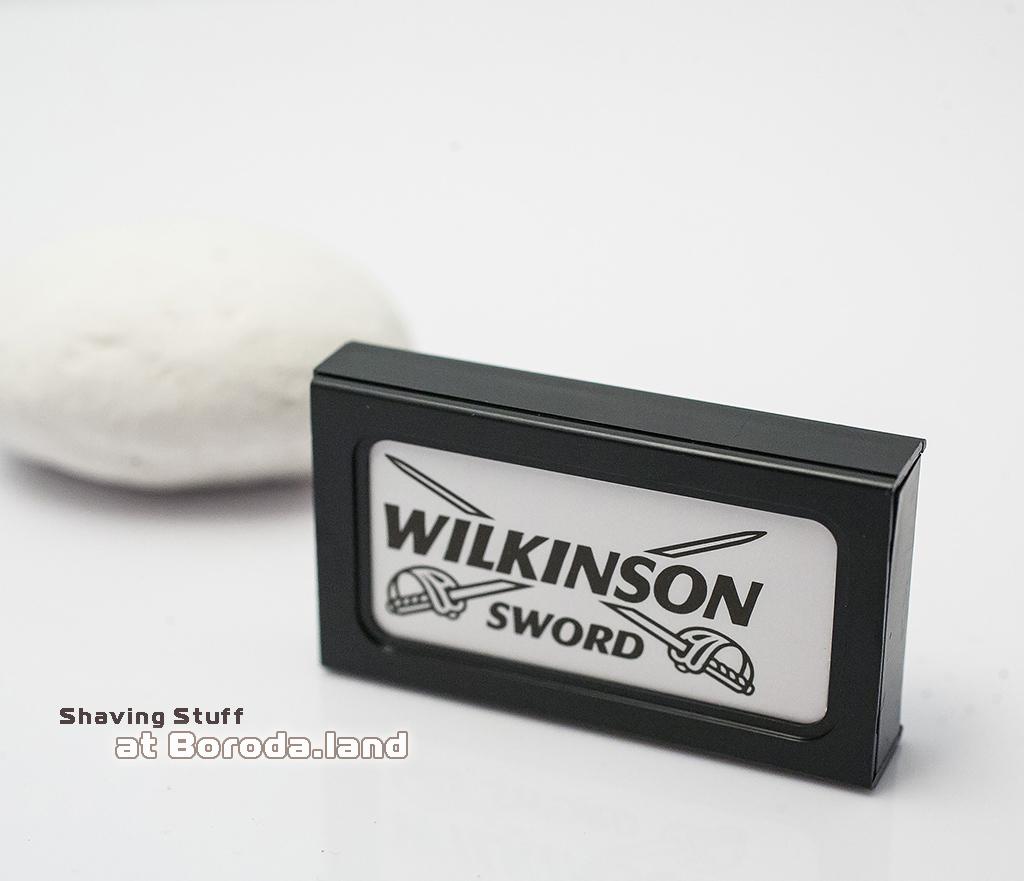 RAZ114 Сменные лезвия «Wilkinson Sword» Classic для станков (5 шт)