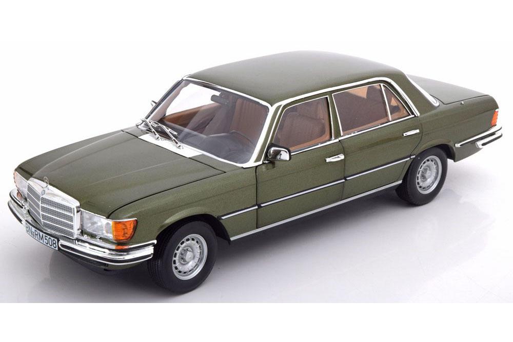 Коллекционная модель Mercedes-Benz 450 SEL 6.9 (W116) 1976 GREEN METALLIC