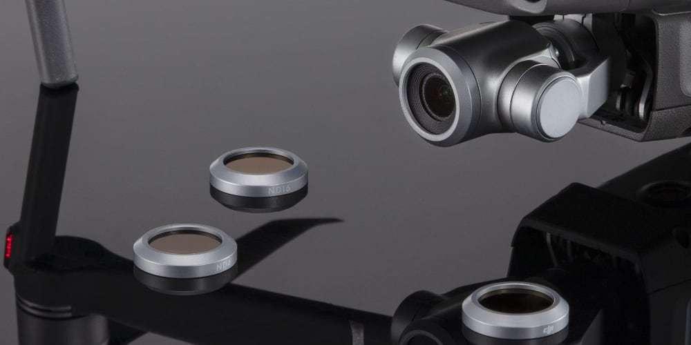 Набор оптических фильтров DJI Mavic 2 Zoom ND Filters Set (ND4/8/16/32) (Part18)