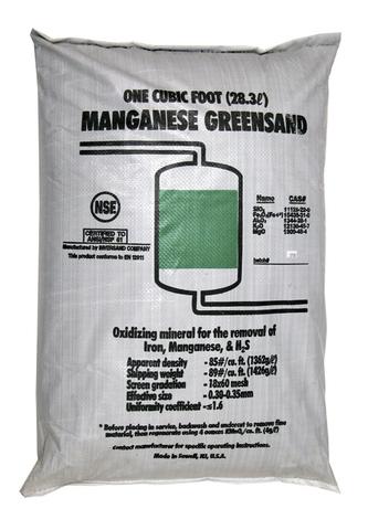Загрузка обезжелезивания Manganese Greensand+ (14.2л, 20 кг)