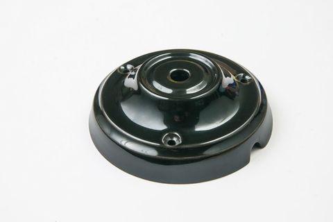 Чашка потолочная керамическая 1 вывод (Черный)