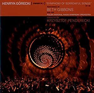 BETH GIBBONS: Henryk Gorecki: Symphony No.3